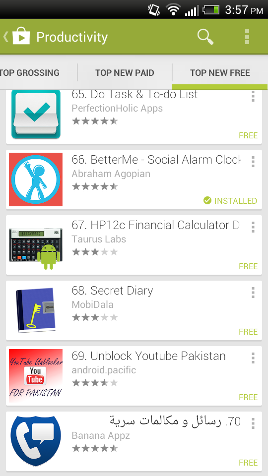Top New Free Apps